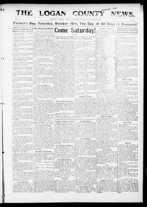 Primary view of object titled 'The Logan County News. (Crescent, Okla.), Vol. 12, No. 49, Ed. 1 Friday, October 15, 1915'.