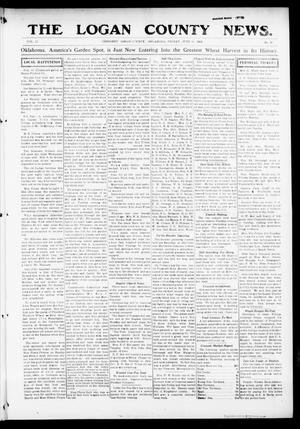 Primary view of object titled 'The Logan County News. (Crescent, Okla.), Vol. 12, No. 31, Ed. 1 Friday, June 11, 1915'.