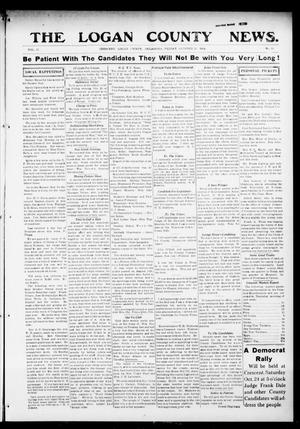 Primary view of object titled 'The Logan County News. (Crescent, Okla.), Vol. 11, No. 50, Ed. 1 Friday, October 23, 1914'.