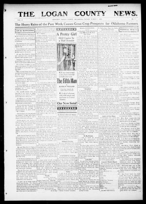 Primary view of object titled 'The Logan County News. (Crescent, Okla.), Vol. 12, No. 17, Ed. 1 Friday, March 5, 1915'.