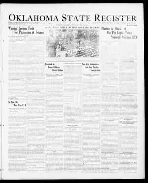 Primary view of object titled 'Oklahoma State Register (Guthrie, Okla.), Vol. 27, No. 2, Ed. 1 Thursday, May 10, 1917'.