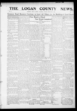 Primary view of object titled 'The Logan County News. (Crescent, Okla.), Vol. 12, No. 15, Ed. 1 Friday, February 19, 1915'.