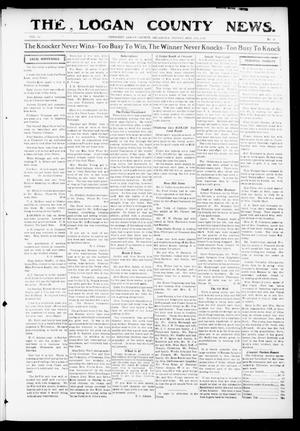Primary view of object titled 'The Logan County News. (Crescent, Okla.), Vol. 13, No. 40, Ed. 1 Friday, August 11, 1916'.