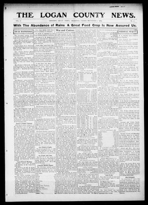 Primary view of object titled 'The Logan County News. (Crescent, Okla.), Vol. 11, No. 43, Ed. 1 Friday, September 4, 1914'.