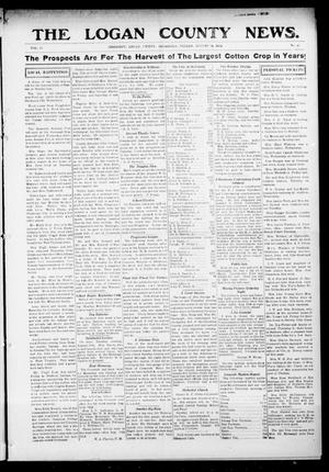 Primary view of object titled 'The Logan County News. (Crescent, Okla.), Vol. 11, No. 40, Ed. 1 Friday, August 14, 1914'.