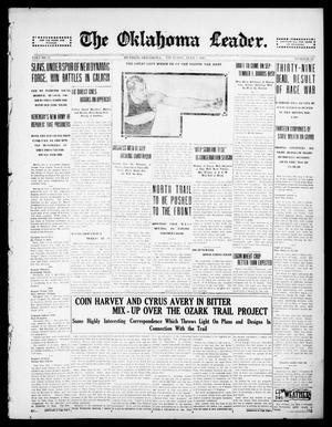 Primary view of The Oklahoma Leader. (Guthrie, Okla.), Vol. 27, No. 29, Ed. 1 Thursday, July 5, 1917