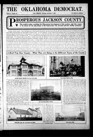 Primary view of object titled 'The Oklahoma Democrat. (Altus, Okla.), Vol. 3, No. 36, Ed. 1 Thursday, December 9, 1909'.
