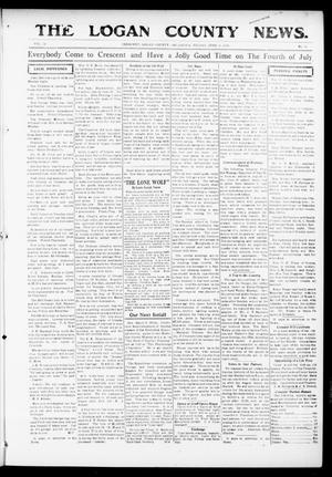Primary view of object titled 'The Logan County News. (Crescent, Okla.), Vol. 13, No. 32, Ed. 1 Friday, June 16, 1916'.