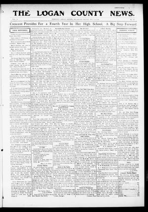 Primary view of object titled 'The Logan County News. (Crescent, Okla.), Vol. 13, No. 36, Ed. 1 Friday, July 14, 1916'.