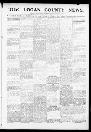 Primary view of object titled 'The Logan County News. (Crescent, Okla.), Vol. 12, No. 45, Ed. 1 Friday, September 17, 1915'.