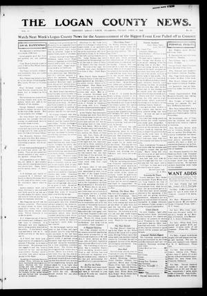 Primary view of object titled 'The Logan County News. (Crescent, Okla.), Vol. 12, No. 23, Ed. 1 Friday, April 16, 1915'.