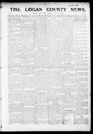 Primary view of object titled 'The Logan County News. (Crescent, Okla.), Vol. 12, No. 36, Ed. 1 Friday, July 16, 1915'.