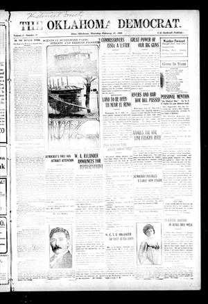Primary view of object titled 'The Oklahoma Democrat. (Altus, Okla.), Vol. 3, No. 46, Ed. 1 Thursday, February 17, 1910'.