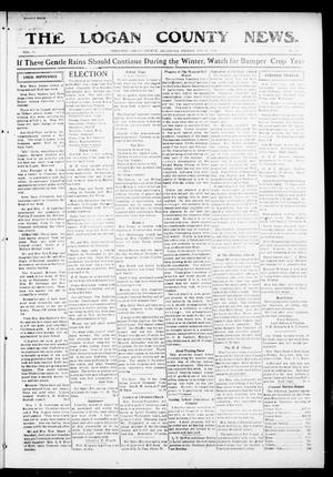 Primary view of object titled 'The Logan County News. (Crescent, Okla.), Vol. 14, No. 53, Ed. 1 Friday, November 10, 1916'.
