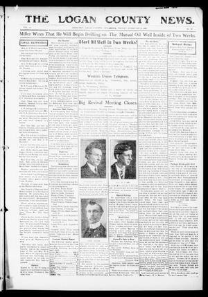 Primary view of object titled 'The Logan County News. (Crescent, Okla.), Vol. 13, No. 16, Ed. 1 Friday, February 25, 1916'.