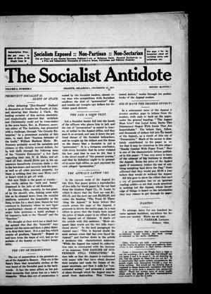 Primary view of object titled 'The Socialist Antidote (Granite, Okla.), Vol. 2, No. 2, Ed. 1 Friday, December 15, 1916'.