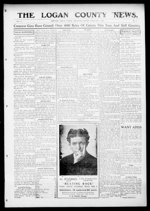 Primary view of object titled 'The Logan County News. (Crescent, Okla.), Vol. 12, No. 13, Ed. 1 Friday, February 5, 1915'.