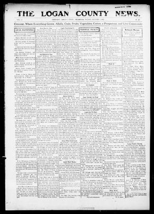 Primary view of object titled 'The Logan County News. (Crescent, Okla.), Vol. 12, No. 47, Ed. 1 Friday, October 1, 1915'.