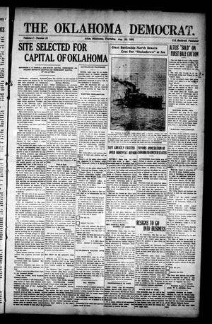 Primary view of object titled 'The Oklahoma Democrat. (Altus, Okla.), Vol. 4, No. 21, Ed. 1 Thursday, August 25, 1910'.