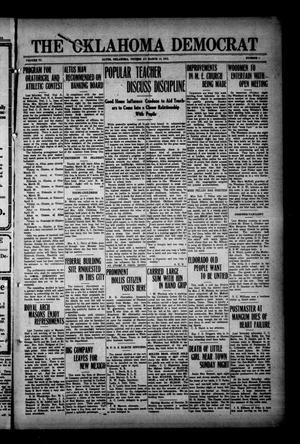 Primary view of The Oklahoma Democrat (Altus, Okla.), Vol. 6, No. 1, Ed. 1 Thursday, March 13, 1913