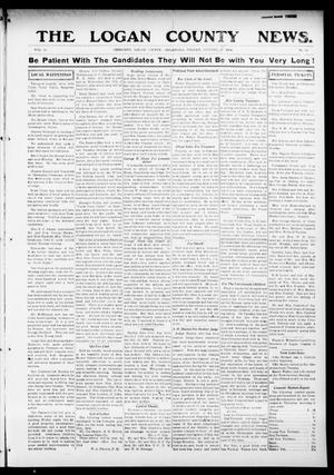 Primary view of The Logan County News. (Crescent, Okla.), Vol. 11, No. 50, Ed. 1 Tuesday, October 20, 1914