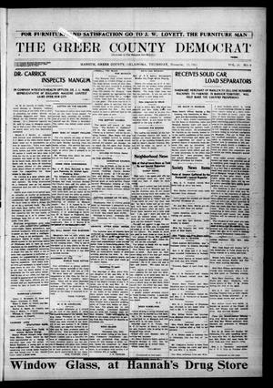 Primary view of object titled 'The Greer County Democrat (Mangum, Okla.), Vol. 24, No. 9, Ed. 1 Thursday, November 13, 1913'.