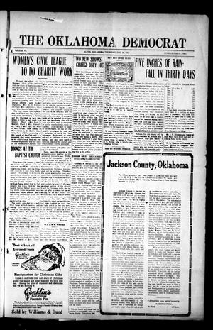 Primary view of object titled 'The Oklahoma Democrat (Altus, Okla.), Vol. 6, No. 42, Ed. 1 Thursday, December 18, 1913'.
