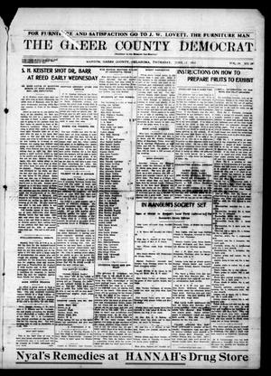 Primary view of object titled 'The Greer County Democrat (Mangum, Okla.), Vol. 24, No. 39, Ed. 1 Thursday, June 11, 1914'.