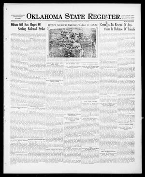 Primary view of object titled 'Oklahoma State Register. (Guthrie, Okla.), Vol. 26, No. 19, Ed. 1 Thursday, August 17, 1916'.