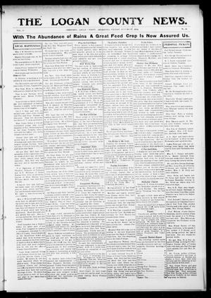 Primary view of object titled 'The Logan County News. (Crescent, Okla.), Vol. 11, No. 48, Ed. 1 Saturday, August 22, 1914'.