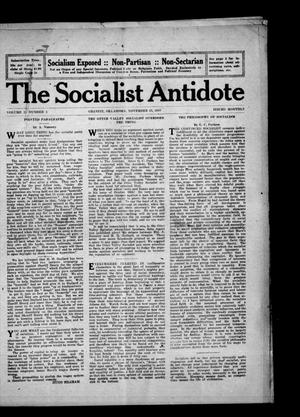 Primary view of object titled 'The Socialist Antidote (Granite, Okla.), Vol. 2, No. 1, Ed. 1 Wednesday, November 15, 1916'.