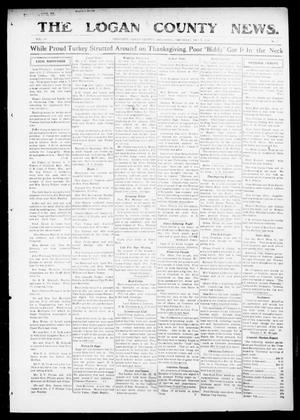 Primary view of object titled 'The Logan County News. (Crescent, Okla.), Vol. 14, No. 5, Ed. 1 Thursday, December 7, 1916'.