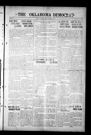 Primary view of object titled 'The Oklahoma Democrat (Altus, Okla.), Vol. 6, No. 3, Ed. 1 Thursday, April 25, 1912'.