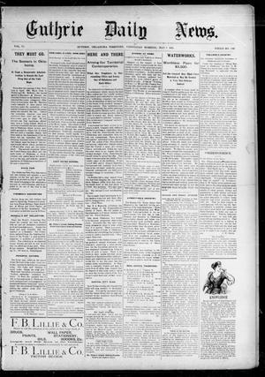 Primary view of object titled 'Guthrie Daily News. (Guthrie, Okla. Terr.), Vol. 5, No. 1481, Ed. 1 Wednesday, May 9, 1894'.