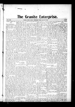 Primary view of object titled 'The Granite Enterprise. (Granite, Okla.), Vol. 17, No. 12, Ed. 1 Friday, July 28, 1916'.