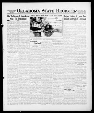 Primary view of object titled 'Oklahoma State Register. (Guthrie, Okla.), Vol. 26, No. 26, Ed. 1 Thursday, November 2, 1916'.
