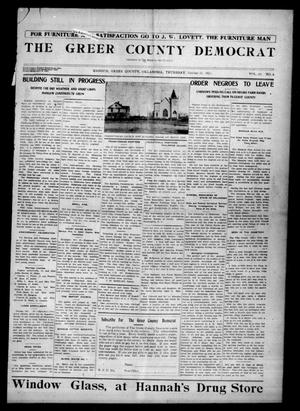 Primary view of object titled 'The Greer County Democrat (Mangum, Okla.), Vol. 24, No. 6, Ed. 1 Thursday, October 23, 1913'.