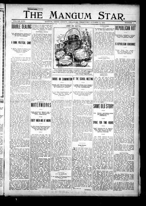 Primary view of The Mangum Star. (Mangum, Okla. Terr.), Vol. 17, No. 15, Ed. 1 Thursday, October 13, 1904