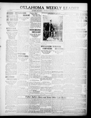 Primary view of object titled 'Oklahoma Weekly Leader (Guthrie, Okla.), Vol. 29, No. 46, Ed. 1 Thursday, January 8, 1920'.
