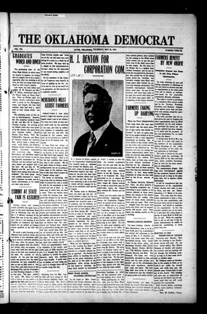 Primary view of object titled 'The Oklahoma Democrat (Altus, Okla.), Vol. 7, No. 12, Ed. 1 Thursday, May 21, 1914'.