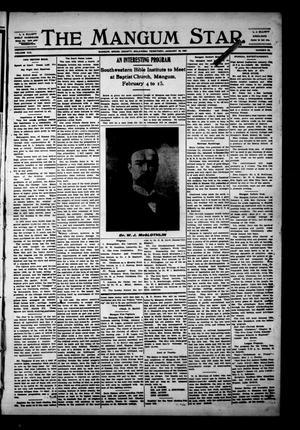 Primary view of The Mangum Star. (Mangum, Okla. Terr.), Vol. 19, No. 28, Ed. 1 Thursday, January 10, 1907