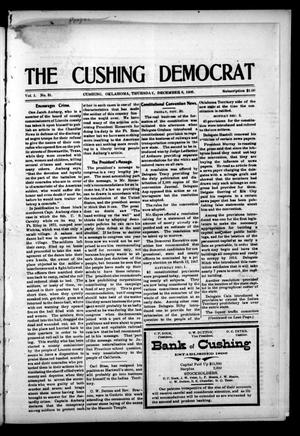 Primary view of object titled 'The Cushing Democrat (Cushing, Okla.), Vol. 1, No. 31, Ed. 1 Thursday, December 6, 1906'.