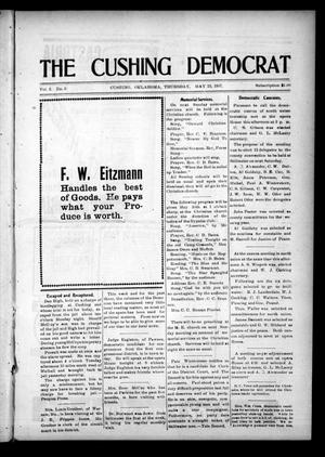 Primary view of object titled 'The Cushing Democrat (Cushing, Okla.), Vol. 2, No. 3, Ed. 1 Thursday, May 23, 1907'.
