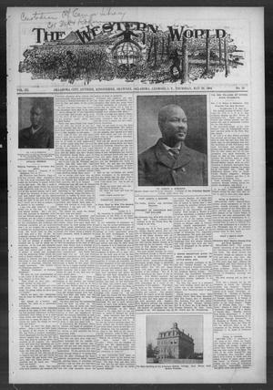 Primary view of object titled 'The Western World (Oklahoma City, Okla.), Vol. 3, No. 10, Ed. 1 Thursday, May 26, 1904'.