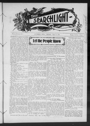 Primary view of object titled 'The Searchlight (Guthrie, Okla.), No. 525, Ed. 1 Friday, May 15, 1908'.