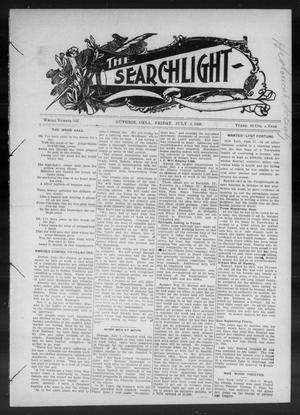 Primary view of object titled 'The Searchlight (Guthrie, Okla.), No. 532, Ed. 1 Friday, July 3, 1908'.