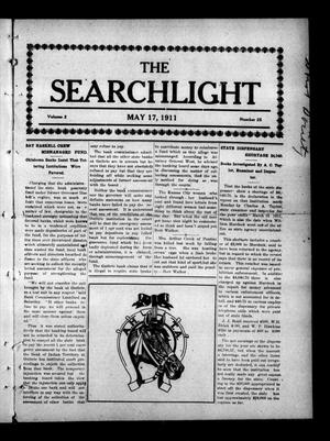 Primary view of object titled 'The Searchlight (Cushing, Okla.), Vol. 2, No. 25, Ed. 1 Wednesday, May 17, 1911'.