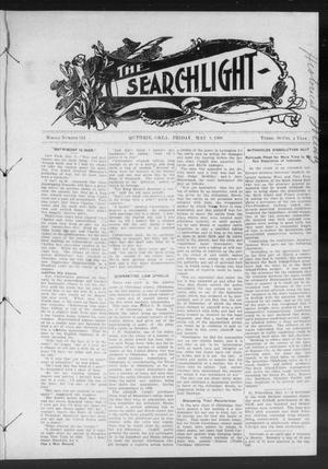 Primary view of object titled 'The Searchlight (Guthrie, Okla.), No. 524, Ed. 1 Friday, May 8, 1908'.