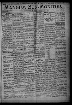 Primary view of Mangum Sun-Monitor. (Mangum, Okla.), Vol. 21, No. 13, Ed. 1 Thursday, December 15, 1910