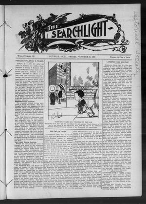 Primary view of object titled 'The Searchlight (Guthrie, Okla.), No. 548, Ed. 1 Friday, October 23, 1908'.